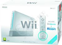 Nintendo Wii White Sports Resort Pak WRIG