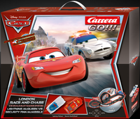 Carrera Disney Cars 2 London Race and Chase