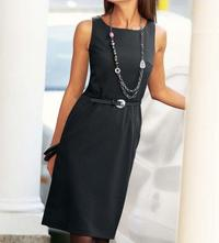 Sheath dress, black