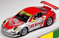 Carrera Porsche 997 GT3 RSR Flying Lizard 2009