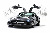 86074 R/C Mercedes-Benz SLS AMG (iPod,iPhone,iPad)