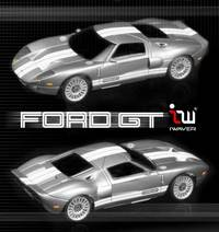 iWaver Ford GT silver